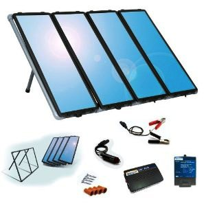sunforce 60 watt solar charging kit